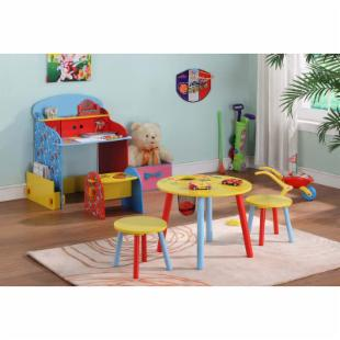 InRoom Designs Kids Table with 2 Stools
