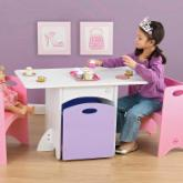  KidKraft Pastel Table and Bench Set