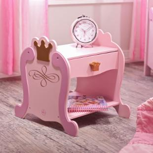 KidKraft Princess Toddler Bedside Table