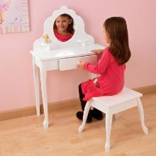  KidKraft Medium Diva Bedroom Vanity Set