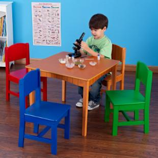 KidKraft Nantucket Primary Table and Chair Set