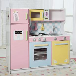 KidKraft Deluxe Pastel Play Kitchen