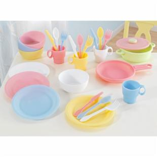 KidKraft 27 Piece Pastel Kitchen Playset