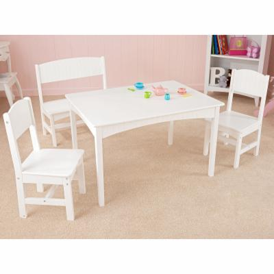  KidKraft Nantucket Table with Bench &amp; Two Chairs