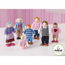  KidKraft Caucasian Doll Family