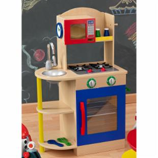 KidKraft Colorful Wooden Play Kitchen