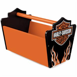 KidKraft Harley-Davidson Flames Toy Caddy