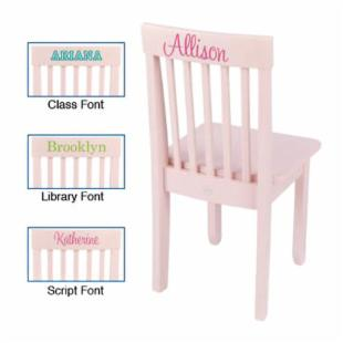KidKraft Personalized Avalon Petal Chair