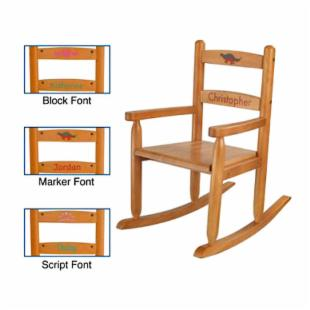 KidKraft Personalized Honey 2-Slat Rocker