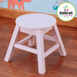 KidKraft Round Stool - Petal