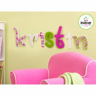 KidKraft Sweet Solid Letter Wall Decor