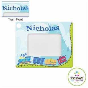 KidKraft Personalized Frame - Train