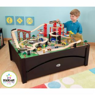 Metro Train Table and Train Set