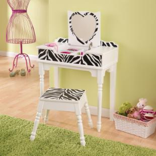 KidKraft Fun and Funky Vanity and Stool