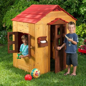 KidKraft Red Roof Outdoor Playhouse
