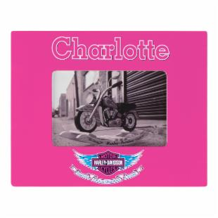 KidKraft Personalized Harley-Davidson&#174; Girls Frame - Serif Pink