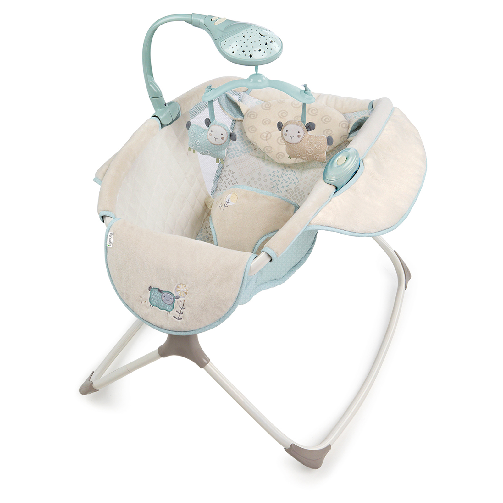 Ingenuity Moonlight Rocking Sleeper Lullaby Lamb At