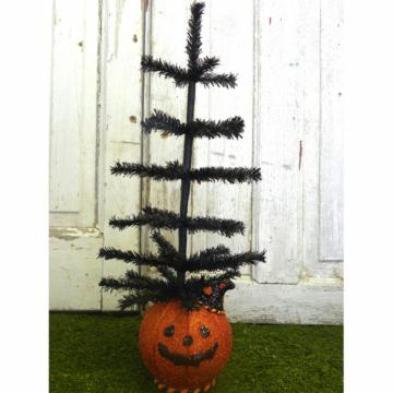 KD Vintage Halloween Pumpkin Tree