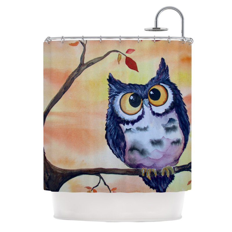 padgett mason owl frog shower curtain shower curtains at hayneedle