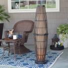 Kenroy Home Biscayne Outdoor Table Lamp Outdoor Lamps At