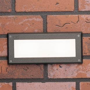 Kichler Recessed Brick Light with Glass