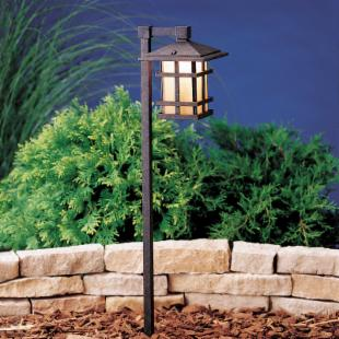 Kichler Cross Creek&trade; Path Light-Aged Bronze