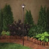  Kichler Cotswold&trade; Convertible Tiki Path and Spread Light-Aged Bronze