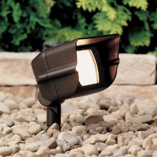 Kichler Hooded Adjustable Wide Flood Light