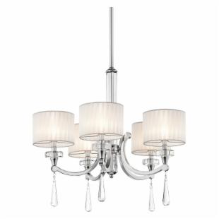 Kichler 42631CH Parker Point 5-Light Chandelier