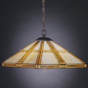 Kichler Art Glass Creations Pendant Light - 21W in. Bronze