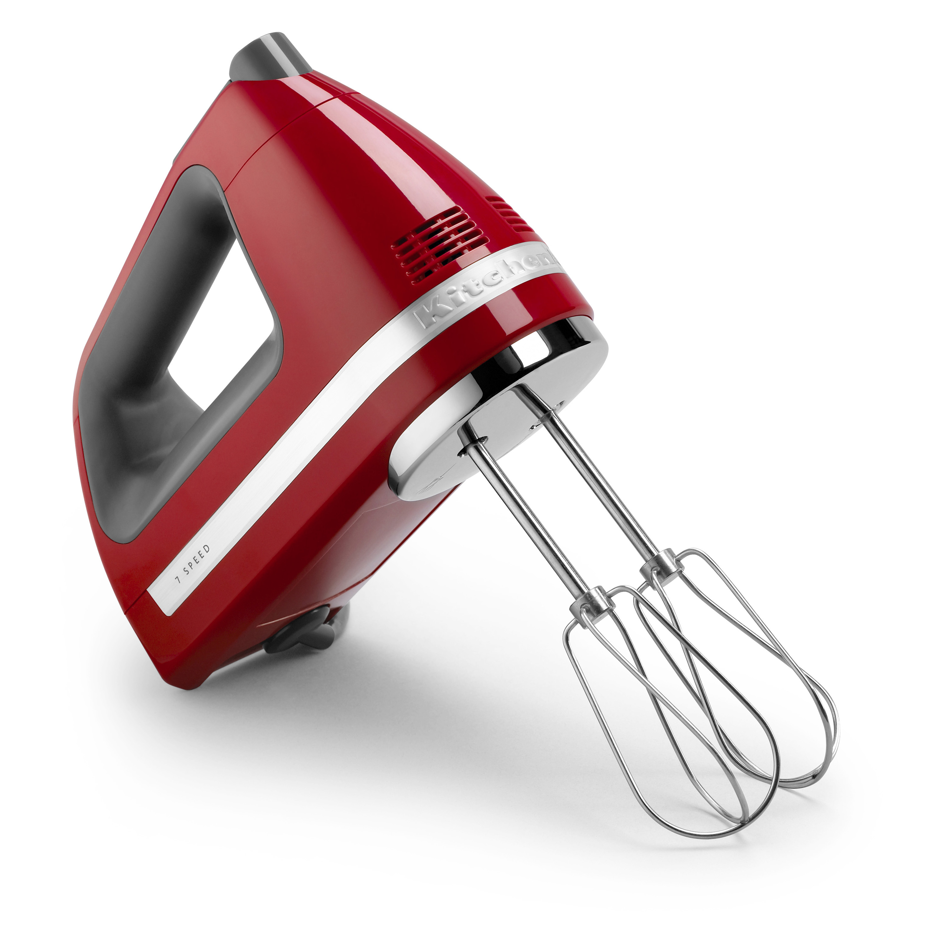 Kitchenaid Khm7210er 7 Speed Digital Hand Mixer Empire Red Mixers At Hayneedle