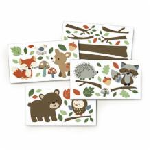  Carters Forest Friends Wall Decals