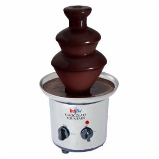 Total Chef TCCSF-02 Stainless Steel 2-Tier Chocolate Fountain