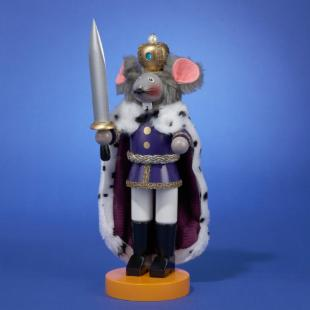 12.5 in. Steinbach Mouse King Smoker Nutcracker