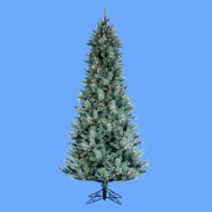 4.5 ft. Designers Series Blue Spruce Pre-Lit Christmas Tree