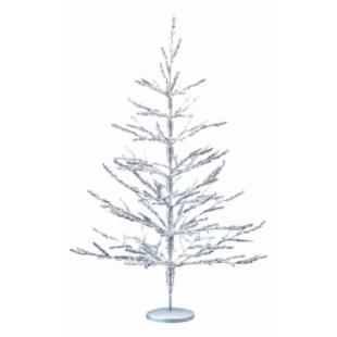 36 in. Silver Coral Christmas Tree