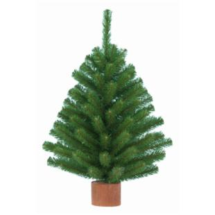 Jefferson Tabletop Christmas Tree with Round Base