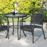  Harbor All Weather Wicker Bistro Set