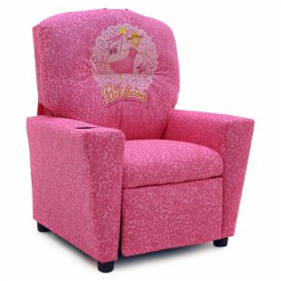 Kidz World Pinkalicious Kid's Recliner