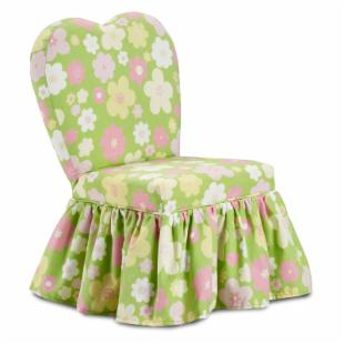 Kidz World Buttercup Gate Baby Pink Sweetheart Chair