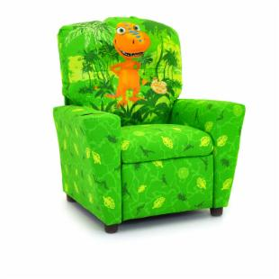 Kidz World Dinosaur Train - Buddy Green Kid's Recliner