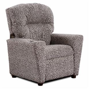 Kidz World Leopard Kid's Recliner
