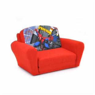 Kidz World Spiderman Red Sleepover Sofa