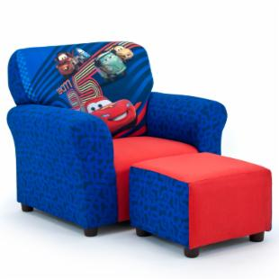 Disney Cars 2 Club Chair and Ottoman Set 