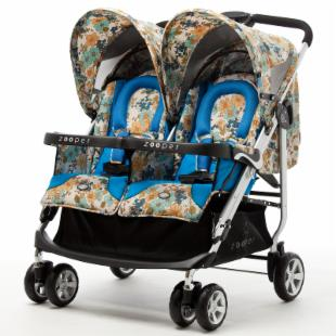 Zooper Tango Double Stroller - Mountain Flowers