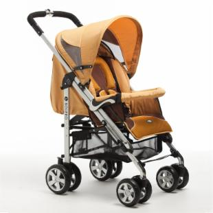 Zooper Bolero Stroller - Amber Yellow