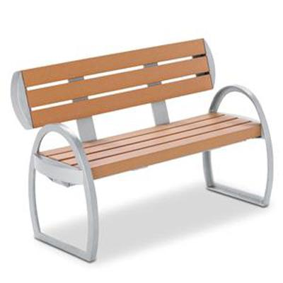 Landscape Brands 4 ft. Woodwind Contour Bench