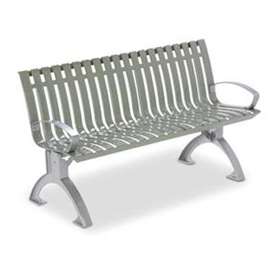 Landscape Brands 4 ft. Latitude Contour Bench with Arms