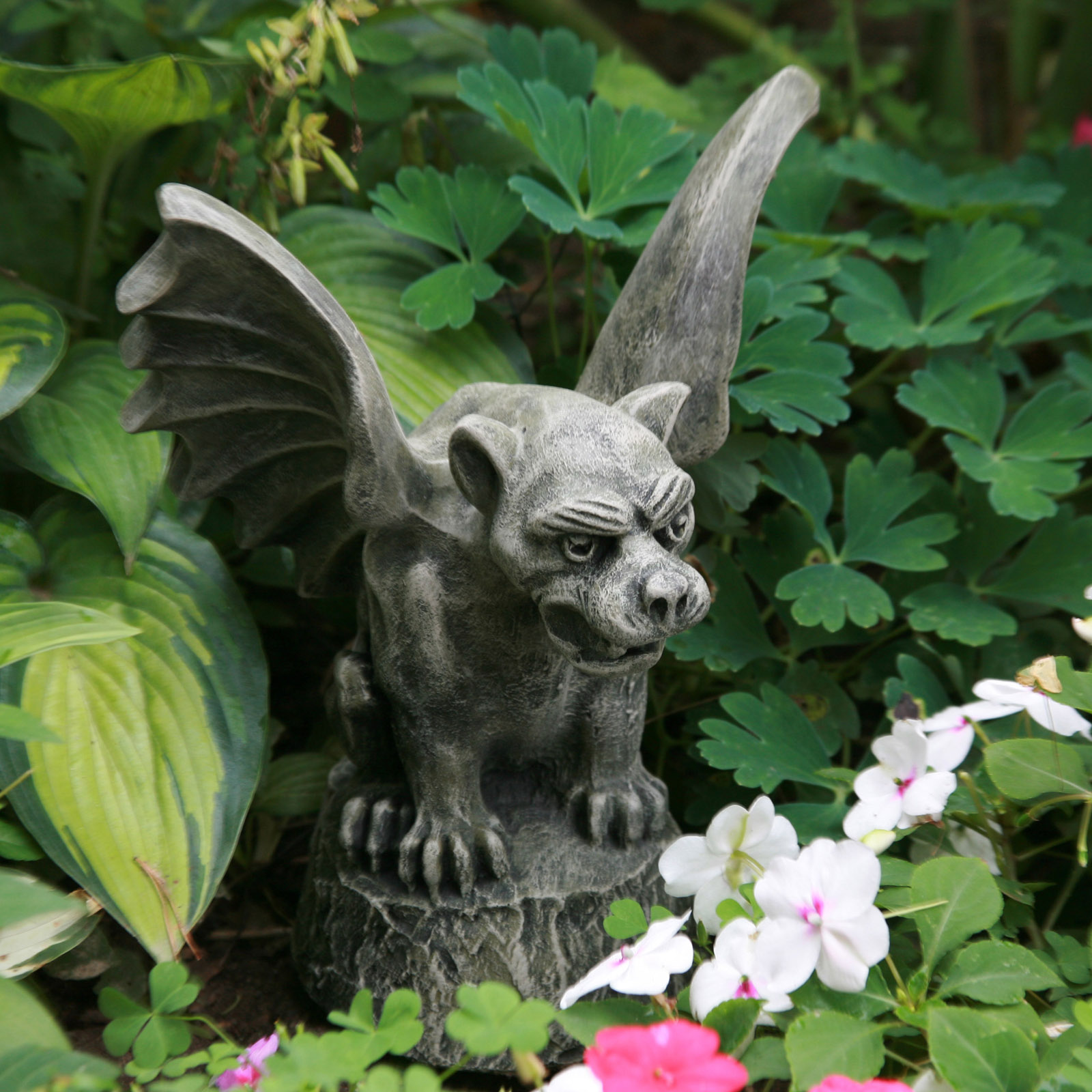 Gargoyle garden statues create a gargoyle garden this type of garden ornament has enormous potential to transform your garden design to welcome you and your visitors to your garden and make them feel at biocorpaavc Images