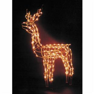 24 in. Animated Standing Deer